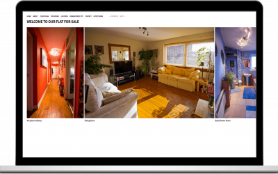 Website | Property Sale | Edinburgh Flat