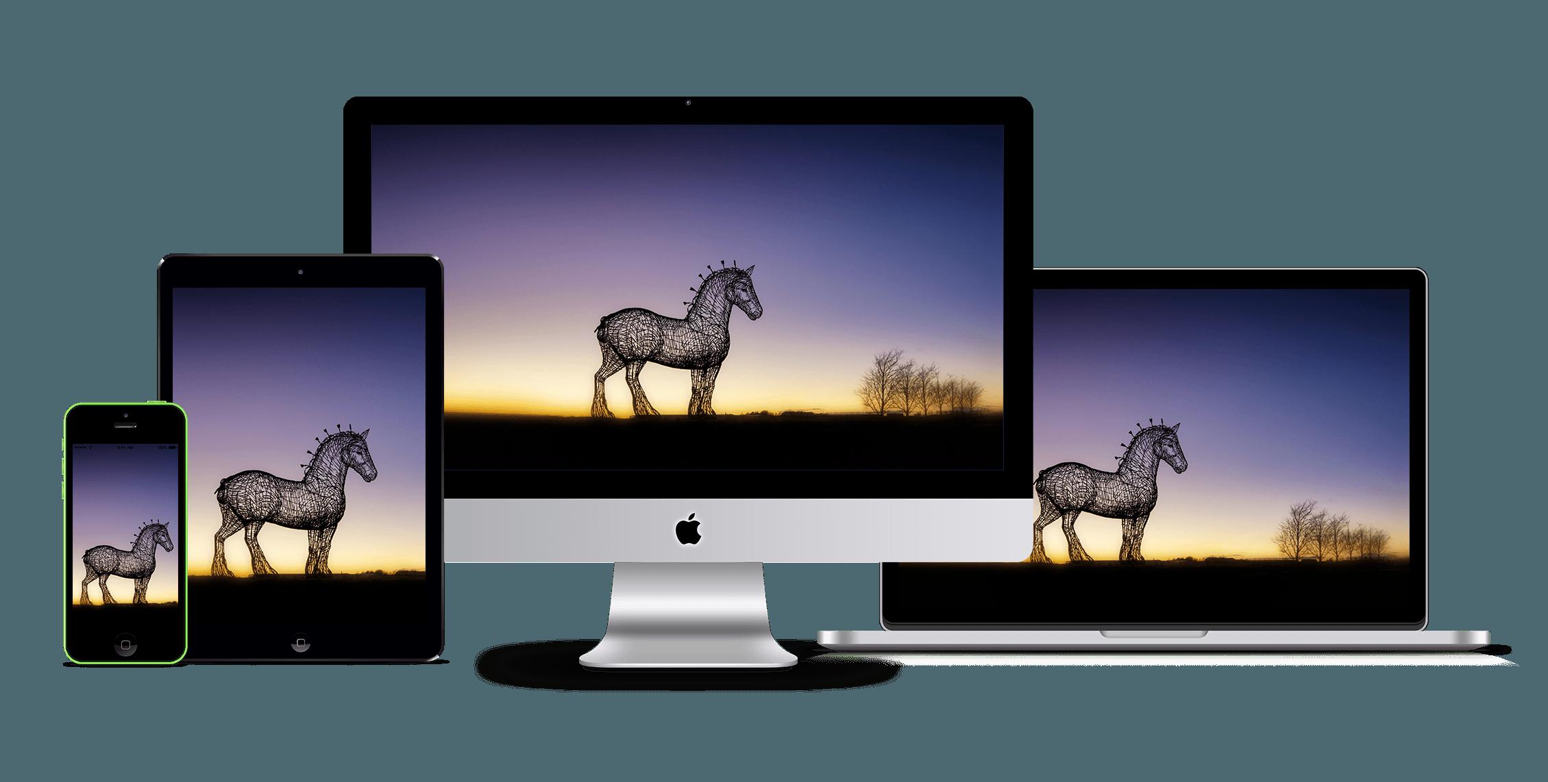 responsive website image