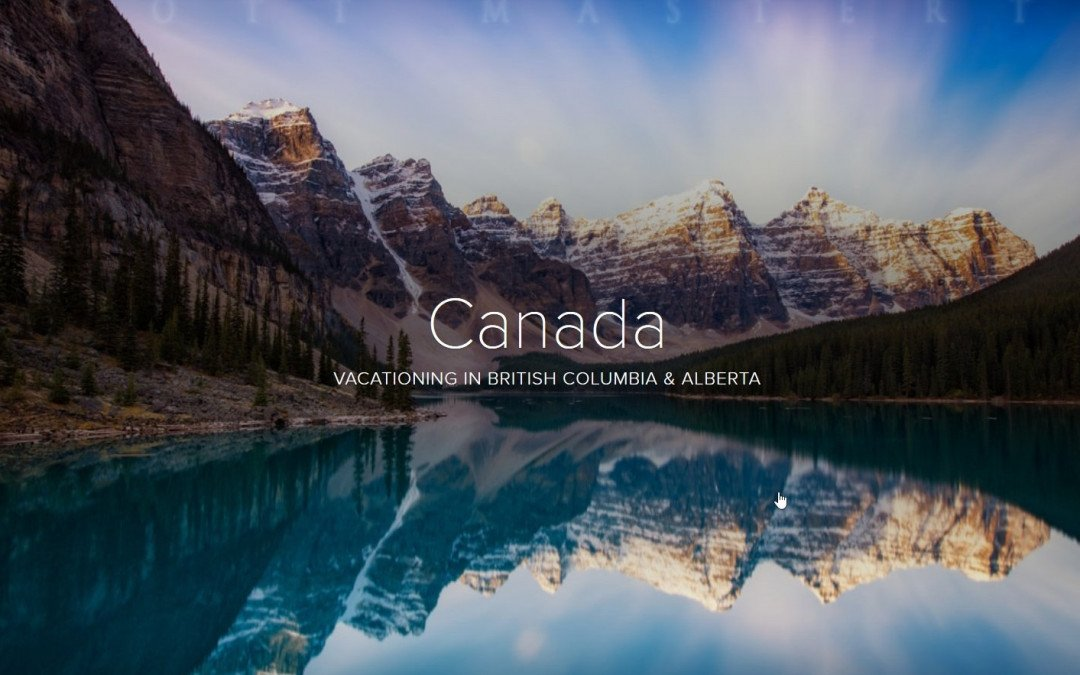 Photo Story Glideshow | Canada